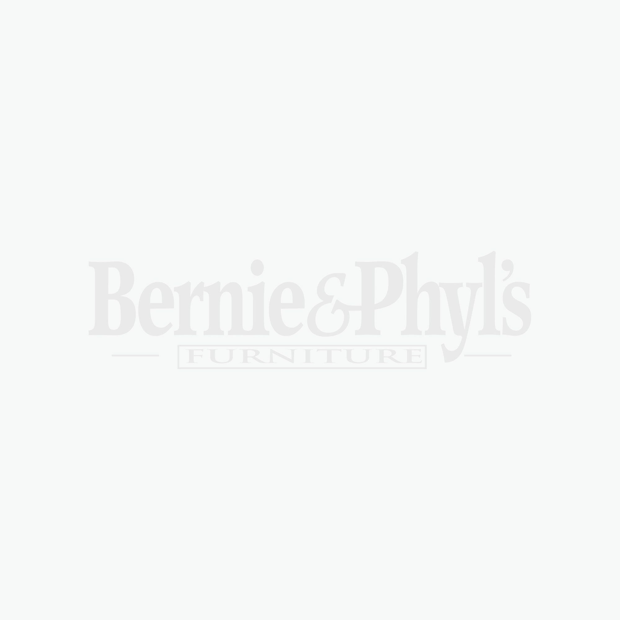 Maple Road Chalky White Mirror